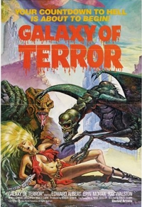 Galaxy of Terror - Planet des Schreckens Cover