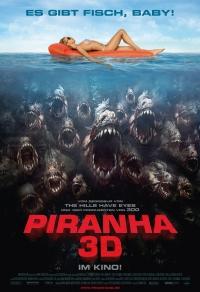 Piranha 3D Cover