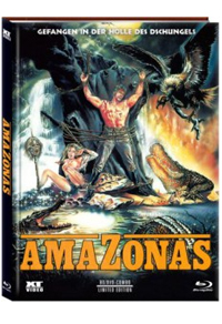 Amazonas - Gefangen in der Hölle des Dschungels Cover A
