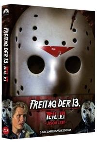 Freitag der 13. Teil 6 - Jason lebt! Limited Mediabook