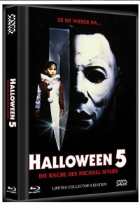Halloween 5 - Die Rache des Michael Myers Cover