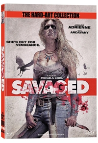 Savaged Cover B