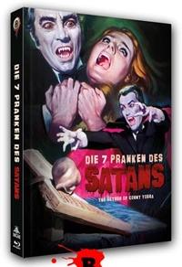 Die sieben Pranken des Satans Cover B