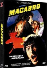 Macabro - Die Küsse der Jane Baxter Cover A