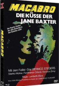 Macabro - Die Küsse der Jane Baxter Cover
