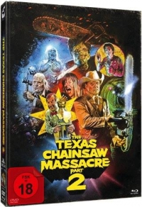 The Texas Chainsaw Massacre 2 Limited Mediabook