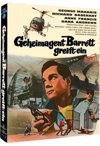 Geheimagent Barrett greift ein Cover B