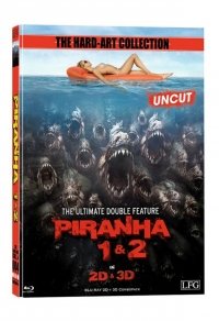 Piranha 3D Double Feature (Mediabook) Cover A