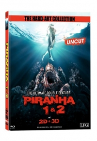 Piranha 3D Double Feature (Mediabook) Cover B