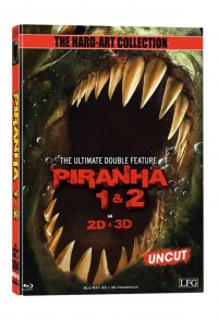 Piranha 3D Double Feature (Mediabook) Cover D
