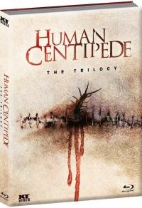 The Human Centipede - Der menschliche Tausendfüssler  Triology (Mediabook)