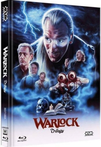 Warlock - Satans Sohn Triology (Mediabook) Cover A