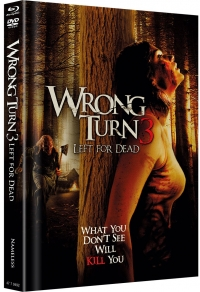 Wrong Turn 3: Left for Dead Limited Uncut Edition (Black)