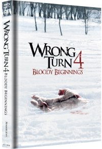 Wrong Turn 4: Bloody Beginnings Limited Uncut Edition (Black)