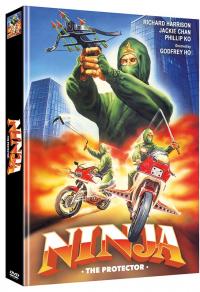 Ninja the Protector Cover B