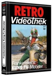 Frankensteins Kung-Fu Monster Cover B