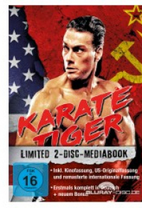 Karate Tiger Limited Mediabook
