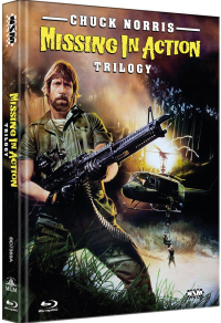 Missing in Action Triology (Mediabook) Cover A