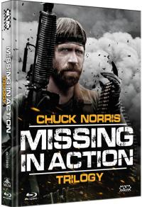 Missing in Action Triology (Mediabook) Cover B