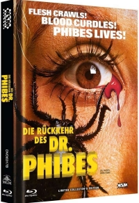 Die Rückkehr des Dr. Phibes Cover B